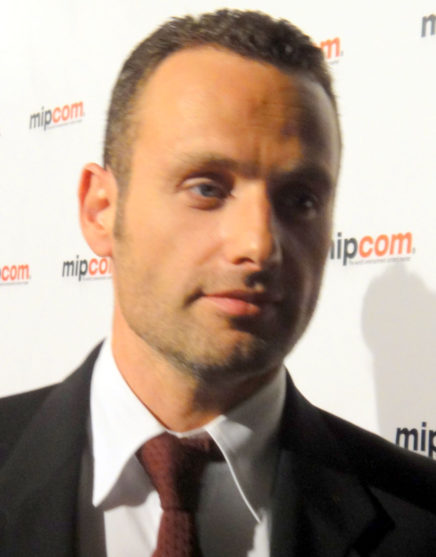 Andrew Lincoln From The Amc Series The Walking Dead A Great If