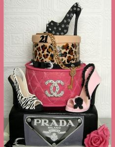 Prada louis vuitton loubotin chanel designer brands sexy st cakes also best images about birthday on pinterest shoe rh