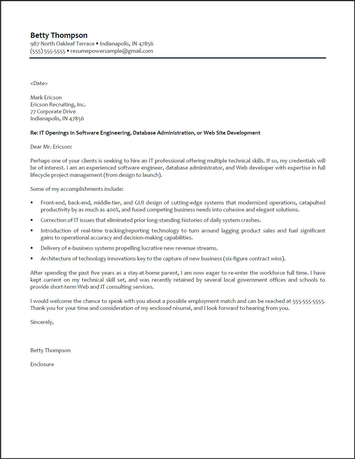 Resume Cover Letter Examples For College Students General Cover - Revenue agent cover letter