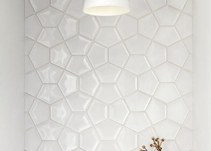 White tile inspiration from  home in california also idee