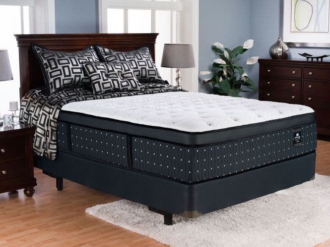 Sealy Posturepedic Proback Crown Jewel Luxe Castle Point Euro Top Firm Queen Mattress Set
