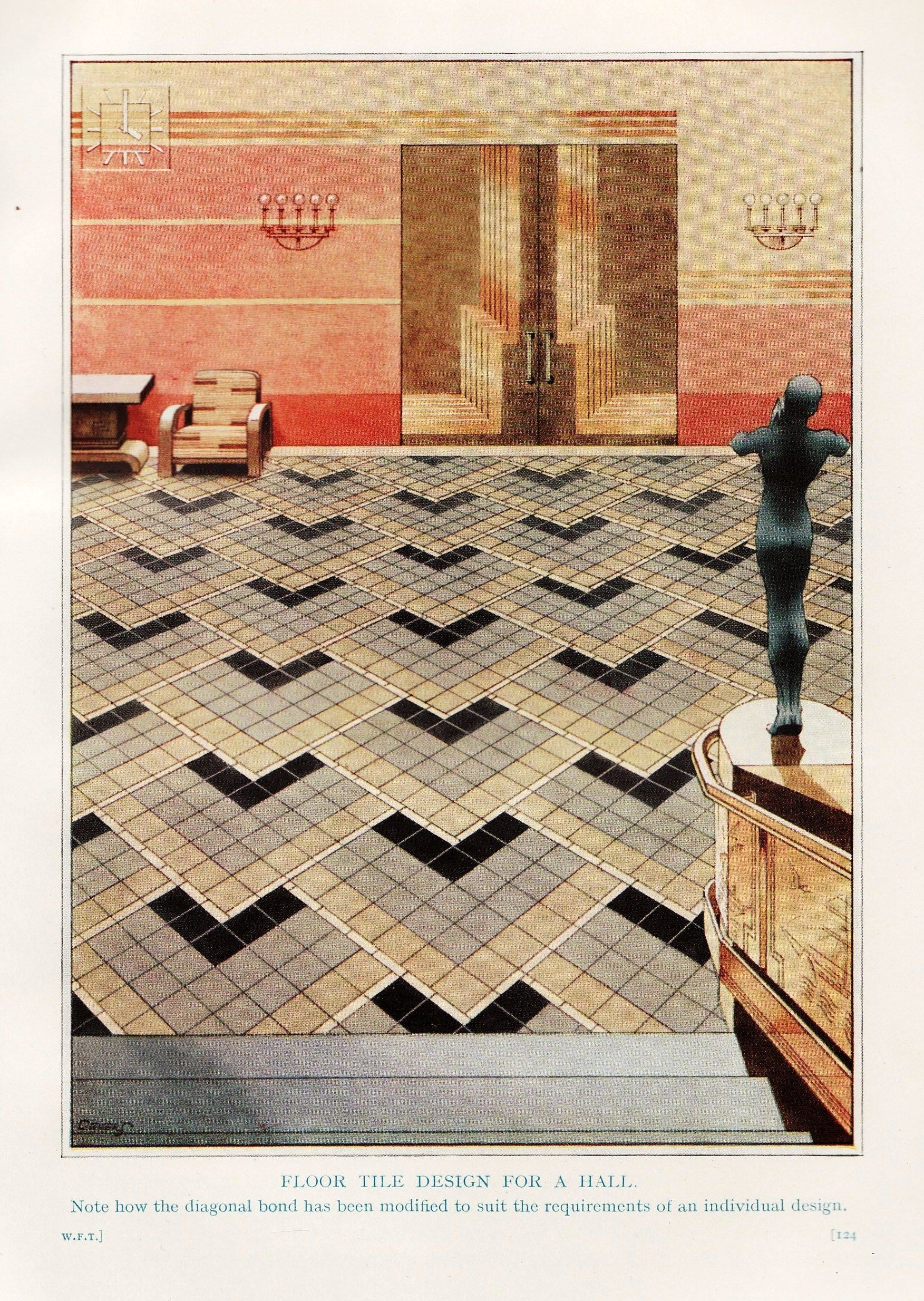 Art Deco tiles are amongst the most elegant and stylish