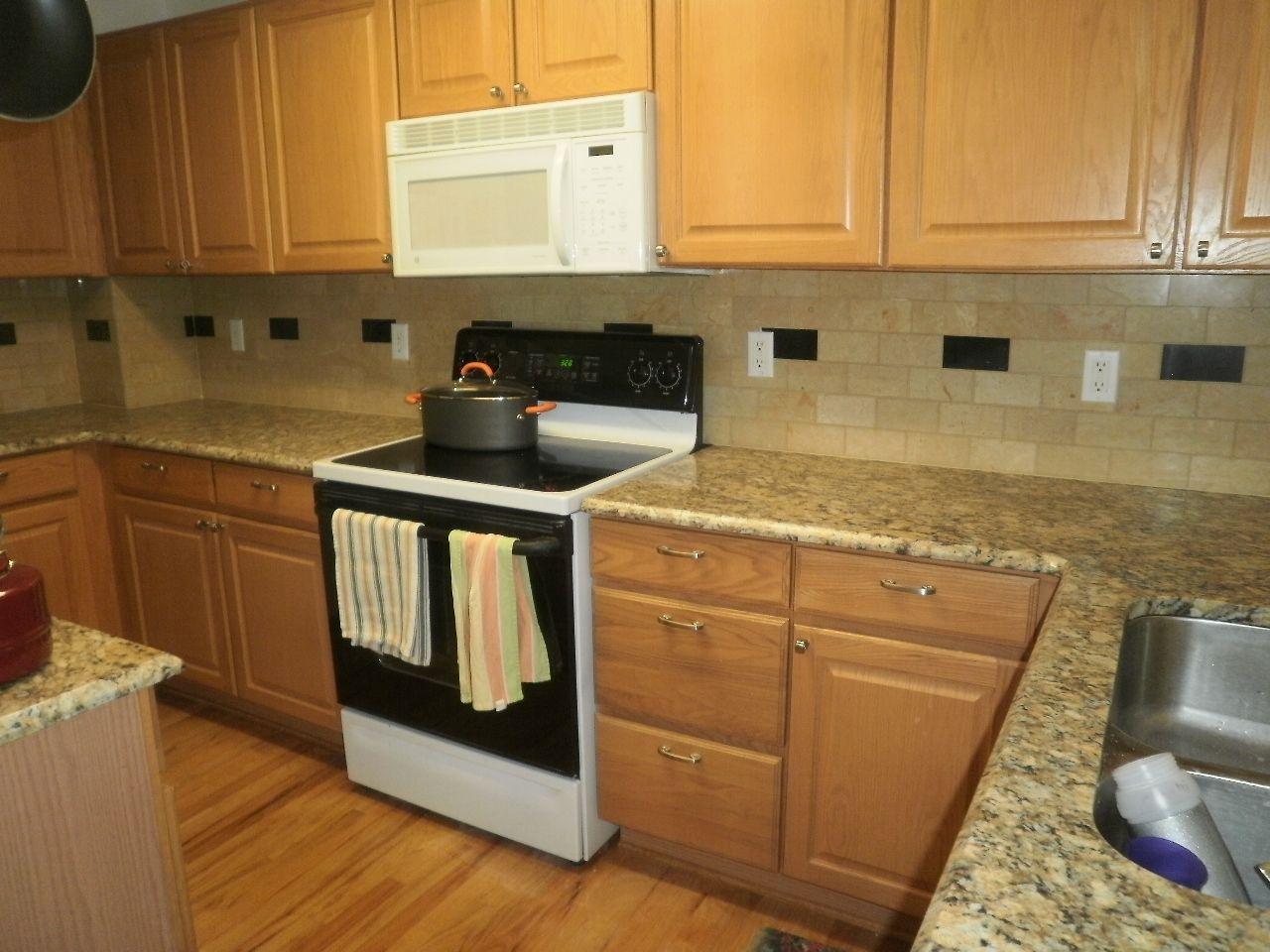 light oak kitchen cabinets american with backsplashes installations