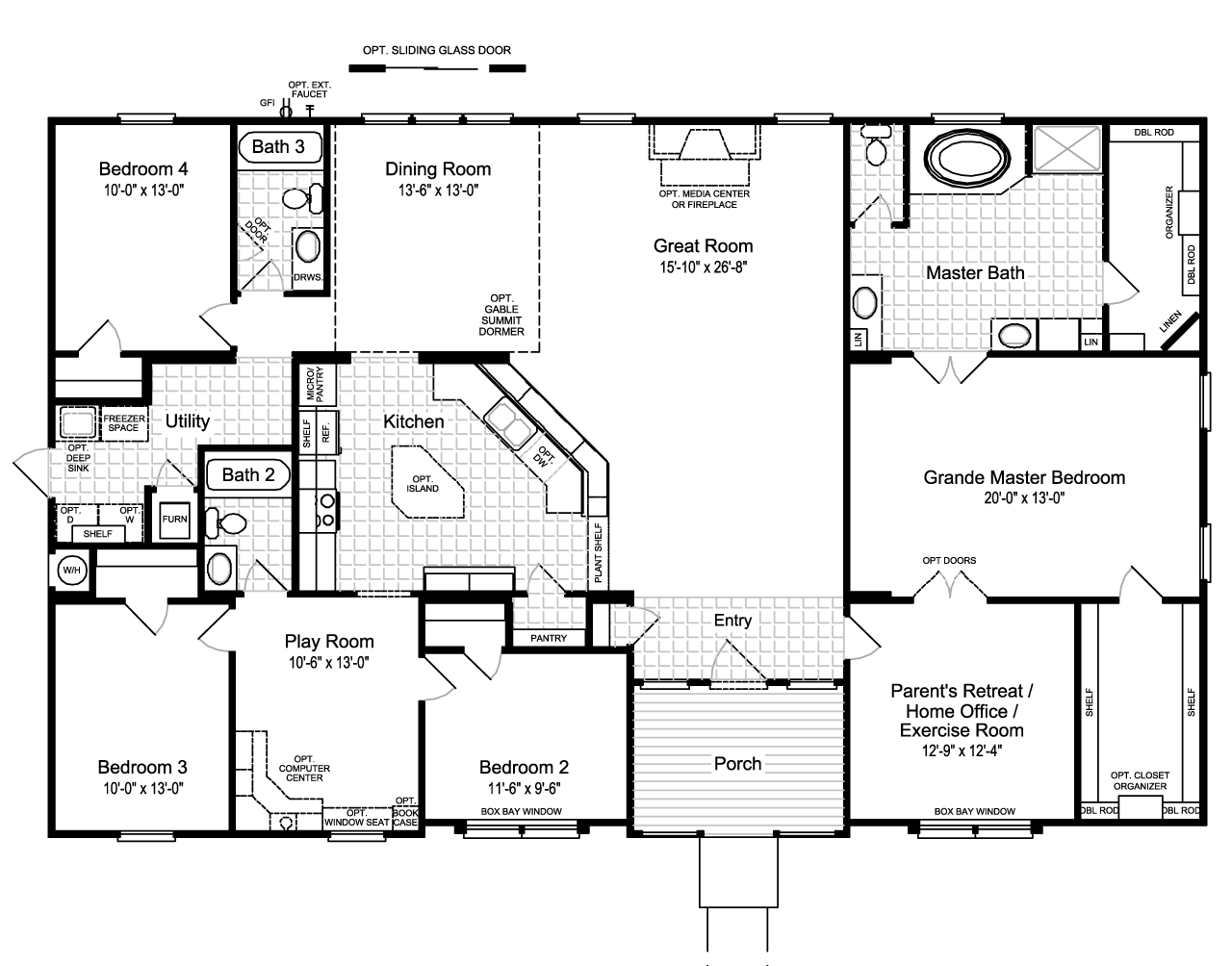 Best 25+ Mobile home floor plans ideas on Pinterest
