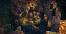 Beautiful Cave Project Ideas Minecraft