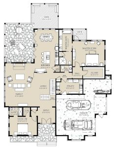 This craftsman design floor plan is sq ft and has bedrooms bathrooms also style house beds baths rh pinterest