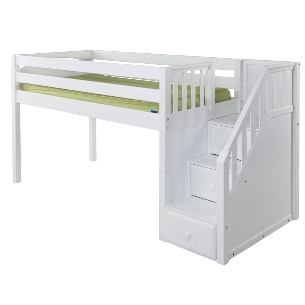 Junior Loft Bed With Stairs Girls  Loft Bed Inspirations