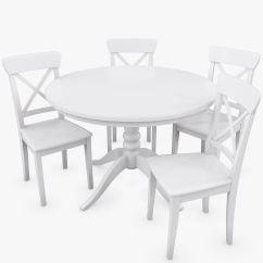 Ikea Ingolf Chair 2 Person Recliner 3d Realistic Model Landelijk Wonen
