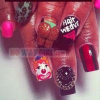 The 25+ best Ghetto nail designs ideas on Pinterest ...