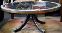 wagon wheel table | wagon wheel coffee table | Home sweet ...