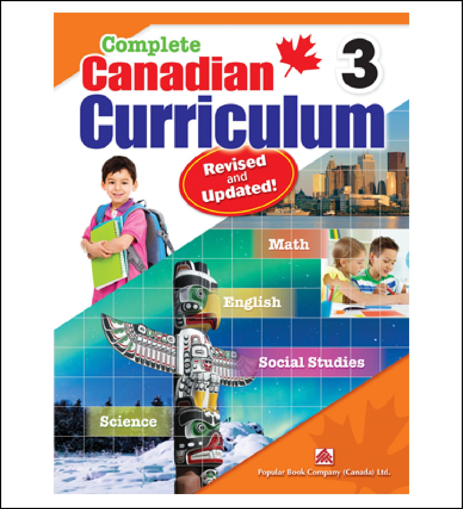 Workbook For Kids Complete Canadian Curriculum Grade 3 By