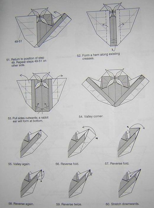 Origami Helicopter Instructions Origami Tutorial Lets Make It