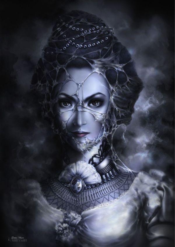 Sexy Victorian Gothic Fantacy Art Allure
