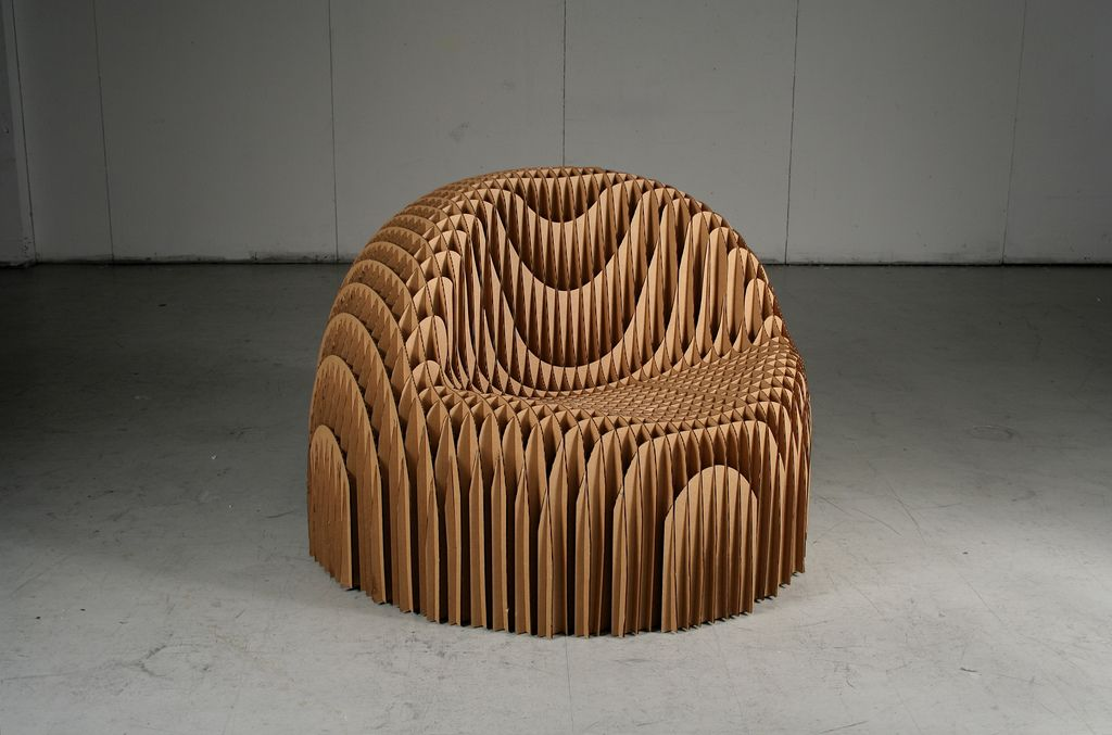 Cardboard Chair  Cardboard chair Cardboard furniture and CNC