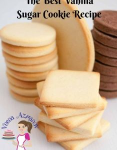 Vanilla sugar cookies are  favorite anytime treat weather you choose to decorate them or eat also rh pinterest