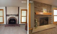 fireplace update How to Update Your Fireplace   Design ...