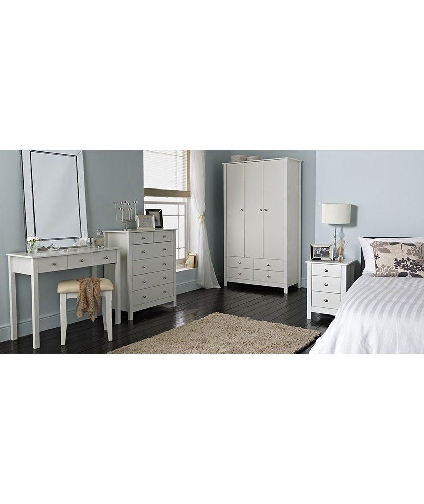 White Bedroom Furniture Sets Argos