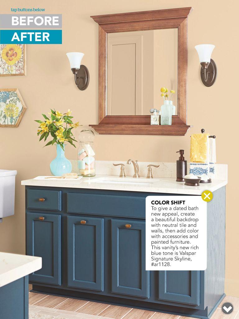 Paint bathroom vanity  Craft Ideas  Pinterest  Paint