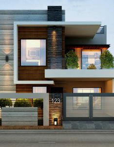 Diseno que enamora con estilo also best images about fachadas on pinterest house modern houses and rh