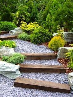 Rustic Front Garden Design For Australian Gentle Slope Google