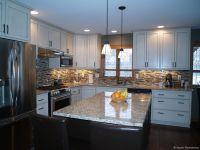 Custom White Cabinet Kitchen Remodel | Aspen Remodelers ...