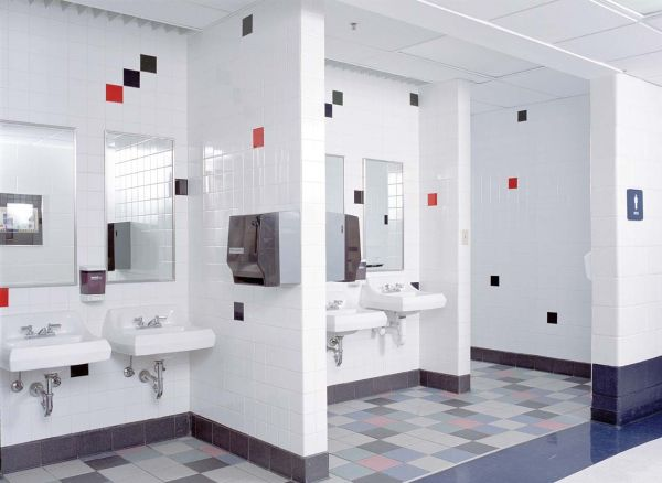 School Restroom Design Haven Middle And Elementary - Project Details