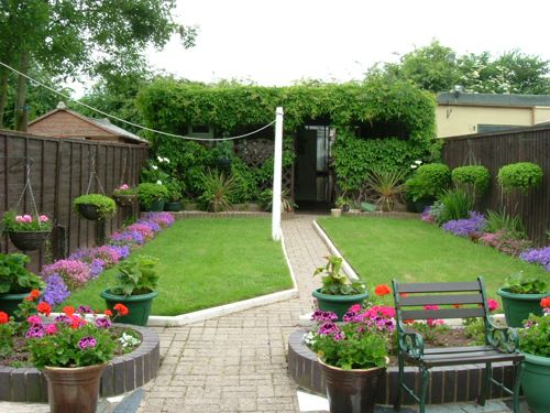 New Small Back Garden Design Ideas Images Small Back Garden