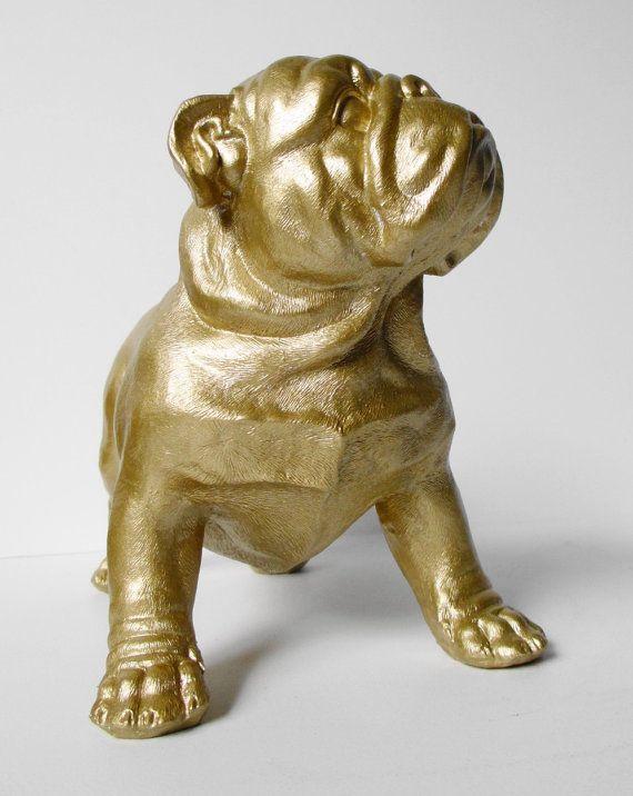 british bulldog ornaments