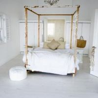 How To Make Bed Canopy With Pipe