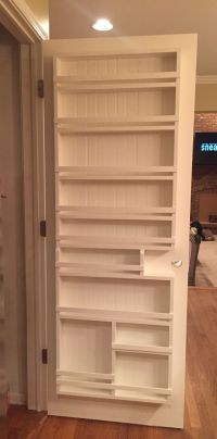 DIY pantry door spice rack The Best of interior decor in ...