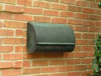 Copper Wall Mount Mailbox With Simple Design | mailbox ...
