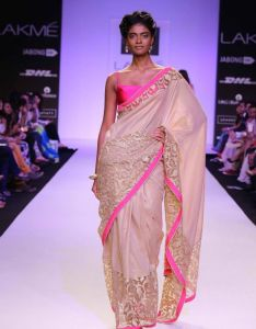 ec264502c3 Mandira bedi designs fire and ice at lakme fashion week also saree  pinterest rh nz