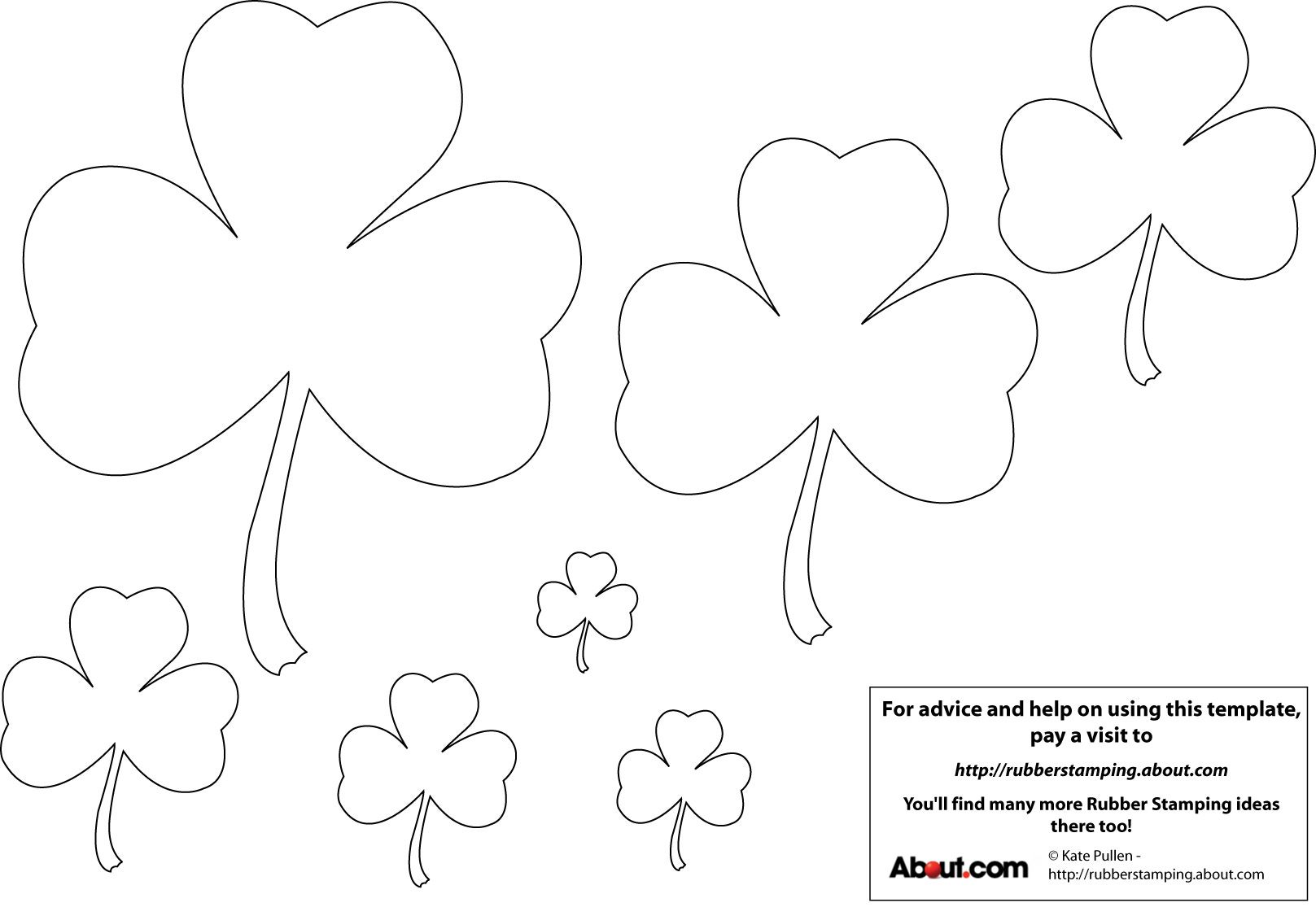Need St Patrick S Day Graphics Use These Free Shamrock Templates
