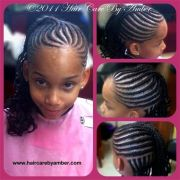 cute hairstyles in braids little