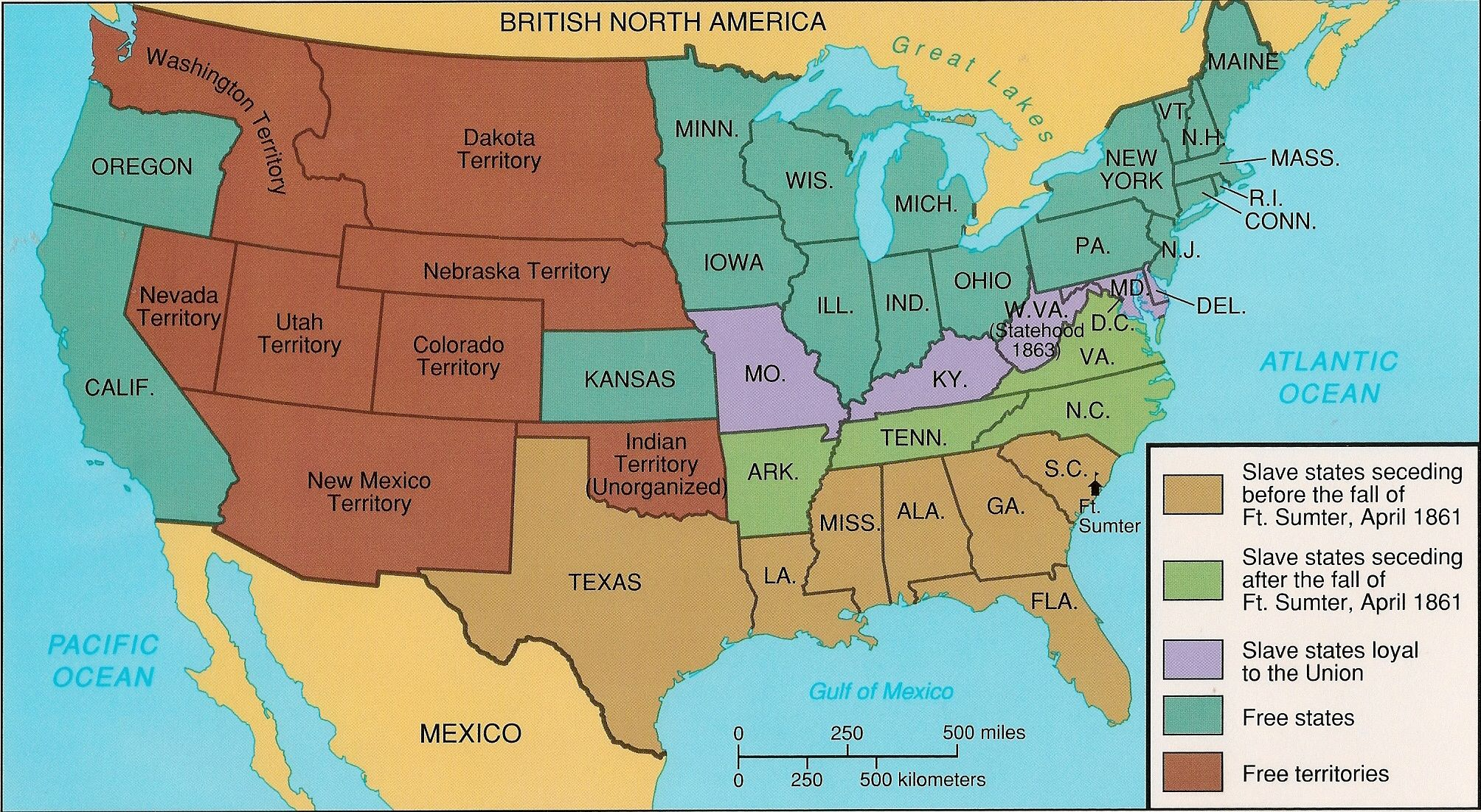 Map Of Us