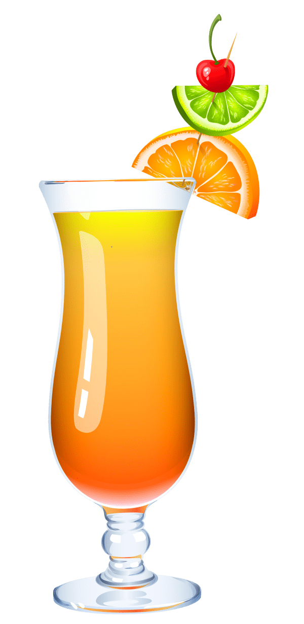 exotic cocktail clipart