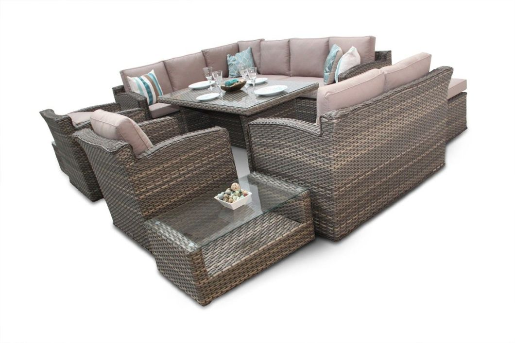 Chelsea Dining Corner Sofa Rattan Furniture Outdoor Set Conservatory