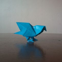 Origami Dove Diagram Scout Ii Ignition Wiring How To Make An Pidgeon The Broship Of Teh