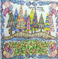 Enchanted Forest An Inky Quest & Coloring Book For ...