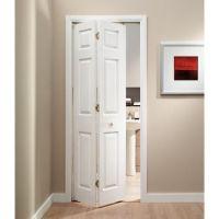 Wickes Woburn Internal Bi-Fold Door White Grained Moulded ...