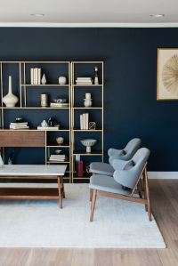 Lindye Galloway Design - MID CENTURY MOD living room with ...