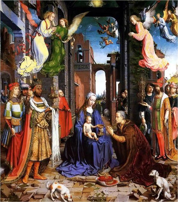 Renaissance Nativity Scene Paintings