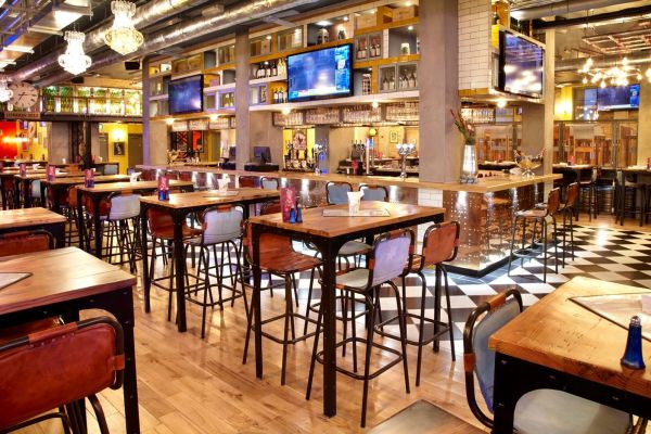 Sports Bar and Grill Design