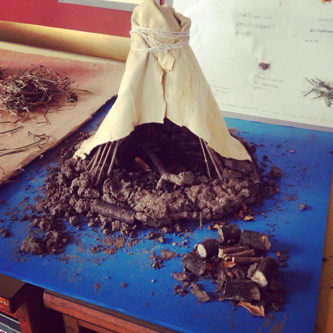 Mesolithic Stone Age House Built By Year 6