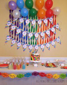 Birthday Party Ideas Also Rainbow Dash Parties Rh