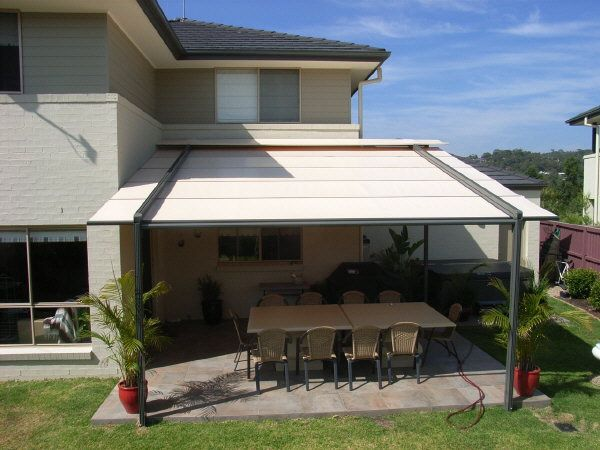 Pacchetto Patio Awning Patio Covers Pinterest Terrasse