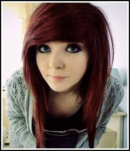 15 Cute Emo Hairstyles For Girls 2015 Simple Flats And For Women