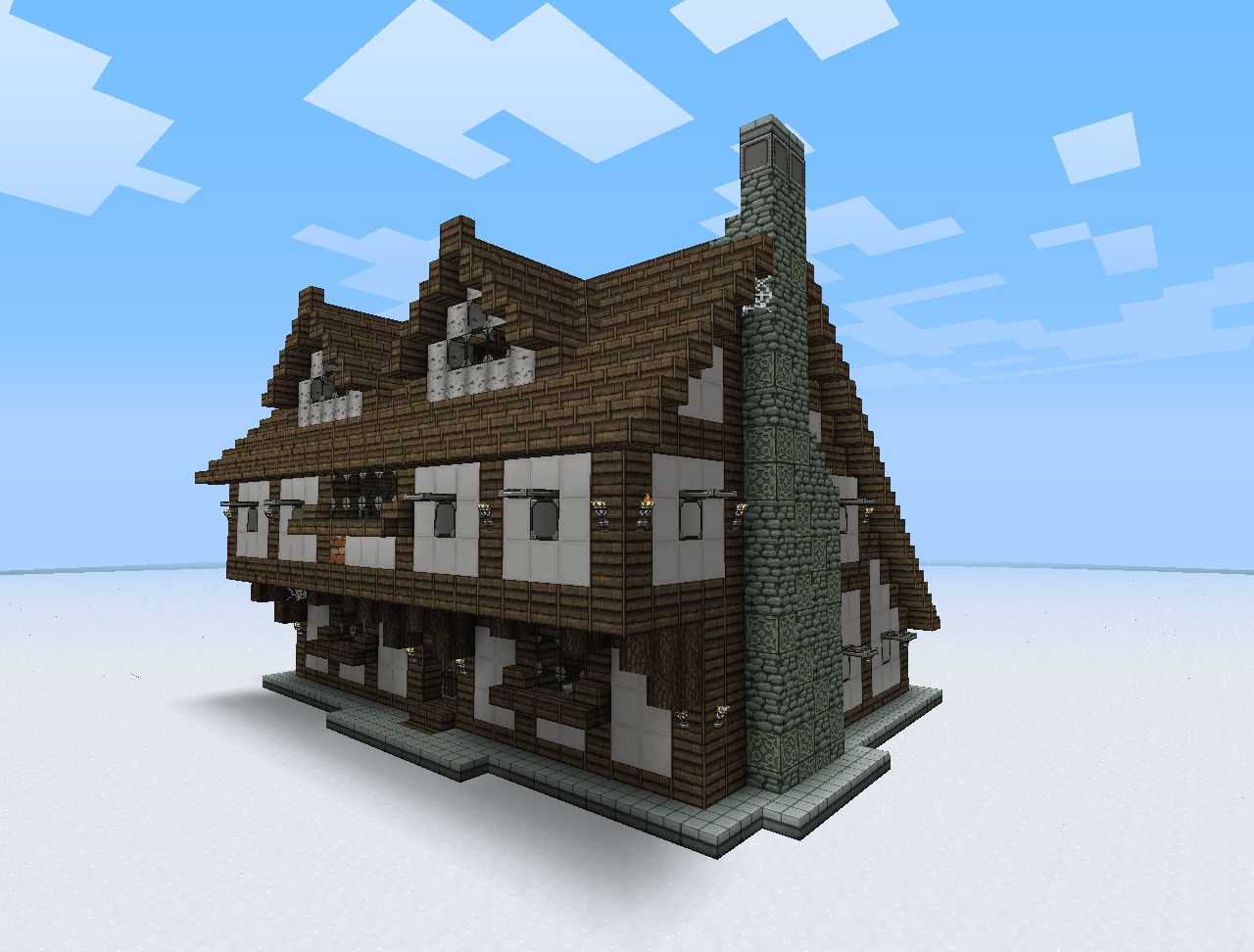 Building A House Medieval Building Bundle Medieval Minecraft