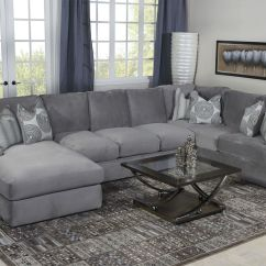 Grey Sectional Sofa Ideas Dfs Feet Glides Key West Living Room In Gray Mor