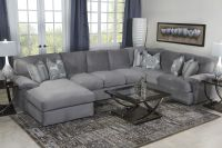 Key West Sectional Living Room in Gray - Living Room | Mor ...